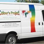 Colour's Project personalizzazione furgone