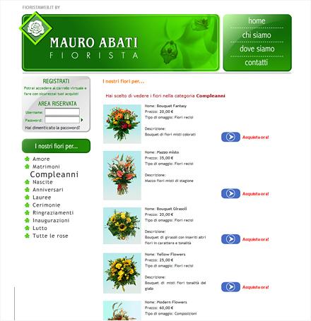 Fiorista web
