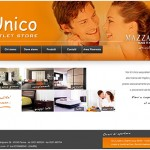 Unico Outlet Store sito web