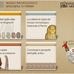Museo Archeologico di Parma Touch screen