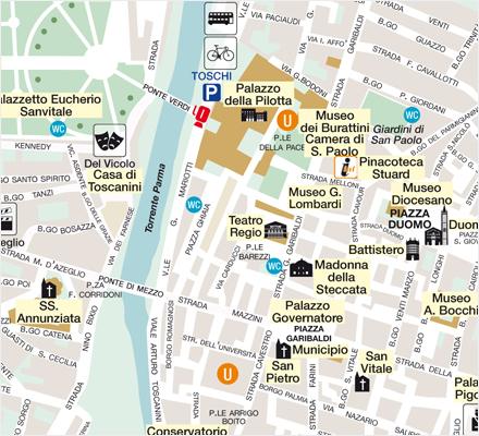 Comune di Parma - mappe della città