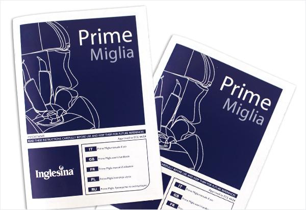 Prime Miglia - manuale d'uso