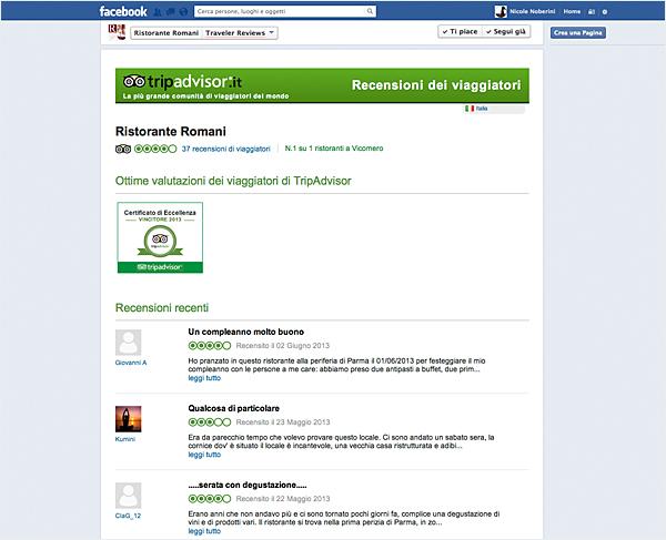 TRIPADVISOR: certificato di eccellenza 2013