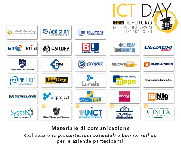 Materiale aziendale ICT DAY