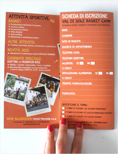Basket Summer Camp FOLDER