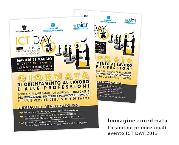 Locandine ICT DAY