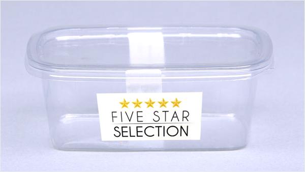 Etichetta 5 star