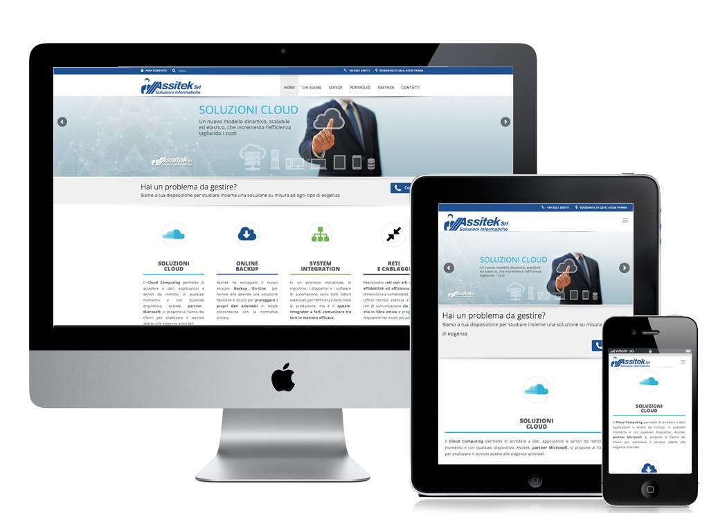 Assitek S.r.l. - sito web responsive