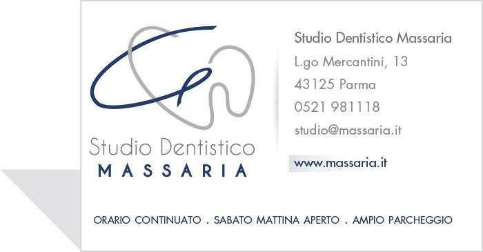 biglietto da visita Massaria
