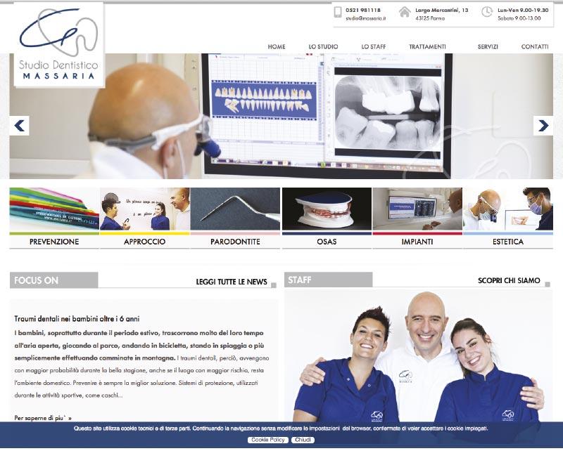 sito web Massaria